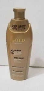 Pure White 2 Gold Glowing Even Tone Maxi Tone Lightening Rejuvenating Lotion 400 ml