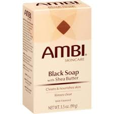 Ambi Black Soap with Shea Butter 3.5oz. 99g
