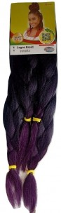 Xpression Lagos Braid Color T1/Purple, 170g