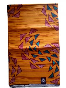 African Wax Print HighTarget 5.5 Meters  (6 yards)