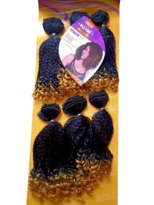 Maxine Daia Synthetic Hair Weave Color TT 1B/44 - All You Need Is One Pack