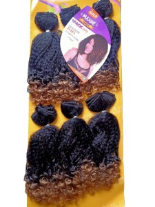 Maxine Daia Synthetic Hair Weave Color TT1B/27 - All You Need Is One Pack