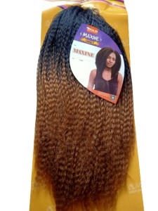 Maxine Synthetic Hair Weave Color T1b/27