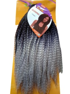 Maxine Synthetic Hair Weave Color T1b/Gray