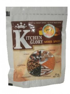 Kitchen Glory Mixed Spices Seasoning Powder 10g