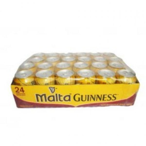 MALTA GUINNESS CAN 330ML (PACK OF 24)