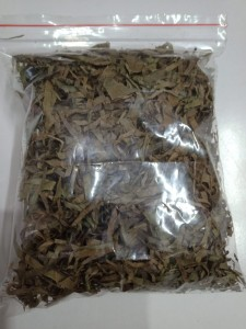 Dried Ukazi Leaves