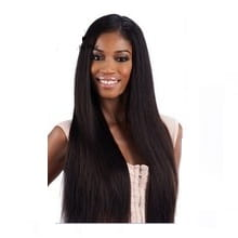 Classic perm yaki 24 inches look like natural synthetic weave. Black