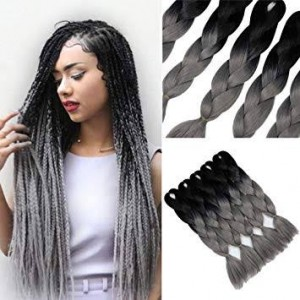 Gray Toned Xpression Braid 165g