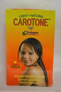 Carotone Brightening Soap 6.7 Oz - Skin Lightening Treatment - Hydroquinone 2%.