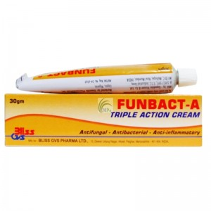 Funbact-A Triple Action Cream - 30g