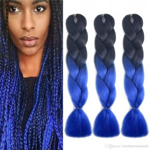 Blue Toned Xpression Braid 165g