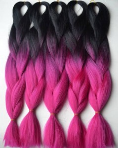 Pink Toned Xpression Braid 165g
