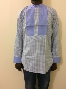 African Men's Shirt - Large Size