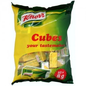 Knorr Beef Cubes  (55 double cubes) 8g