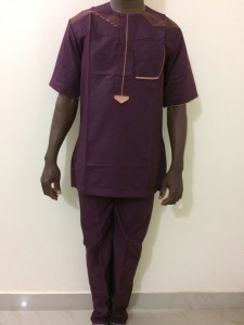 African Men's Clothing - Large Size