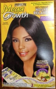 Profective Mega Growth Anti-damage No-lye Relaxer - Regular Kit