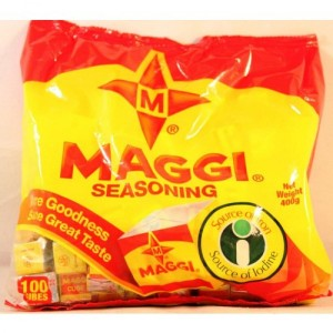 Maggi Star Seasoning Cubes - 100 Cubes