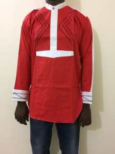 African Men's Shirt - Medium Size