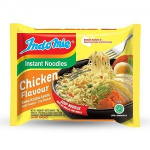 Indomie Instant Noodles Chicken Flavour - Small 70g Pack