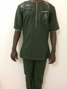 African Men's Clothing - Medium Size
