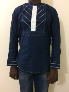 African Men's Shirt - Small Size
