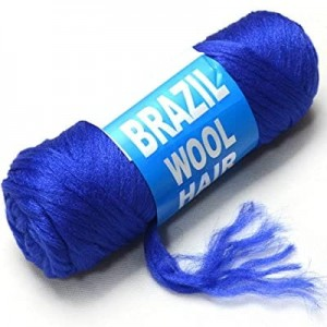 Brazilian Wool Blue Color